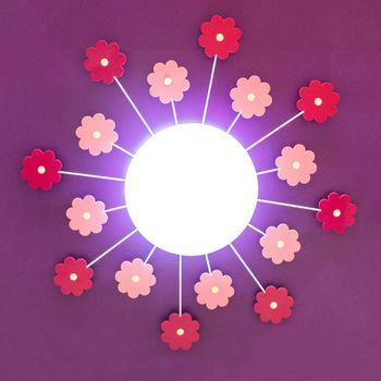 Fun light beam isolated