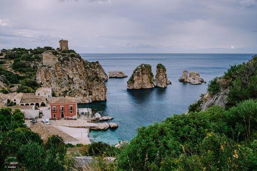 Scopello Beach in Sicily Italy