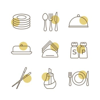 serving food icons