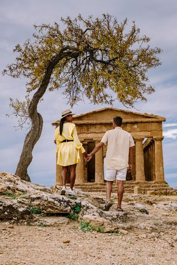 Valley of the Temples at Agrigento Sicily, Italy