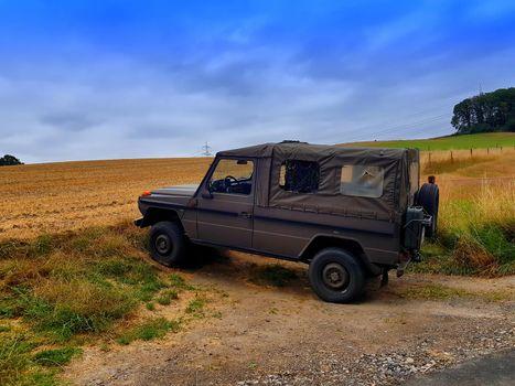Small four-wheel drive SUV