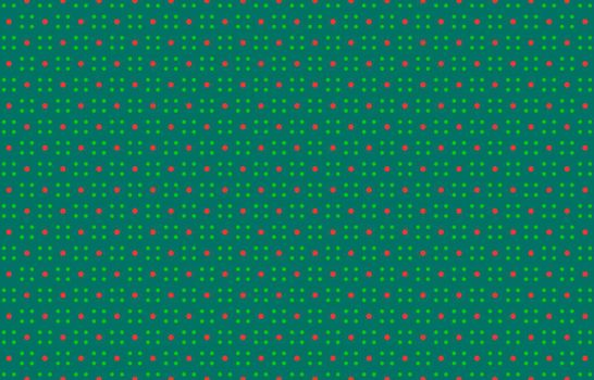 Dot Christmas pattern, minimalist polka dot red and green background, Polka dots pattern christmas, for fabric print, garment, paper, scrapbook, craft, wallpaper, background template