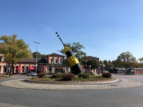 Buoy at the roundabout