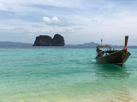 Long-tail boat on Koh Ngai