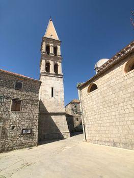 Chiesa di St. Stefano church in the old town of Stari Grad