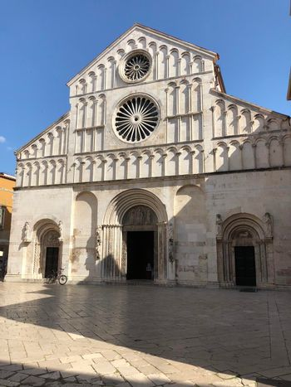 Saint Anastasia romanesque cathedral