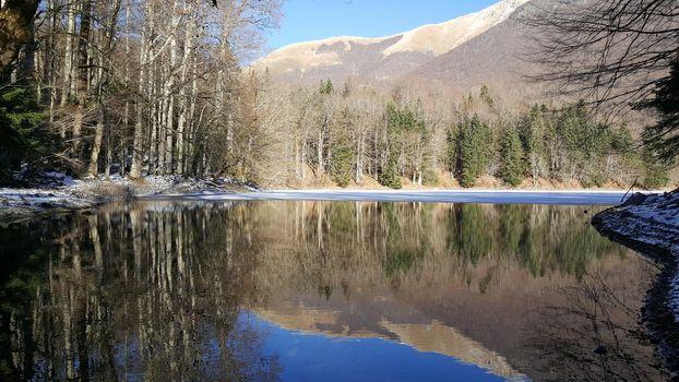 lake in Biogradska Gora