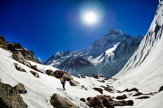 Machapuchare Holy Mountain