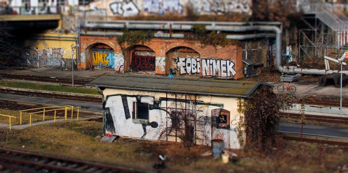 Neglected train halt