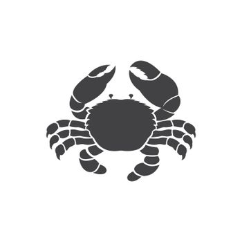 Vector of a crab design on white background. Easy editable layered vector illustration. Animals. Amphibian