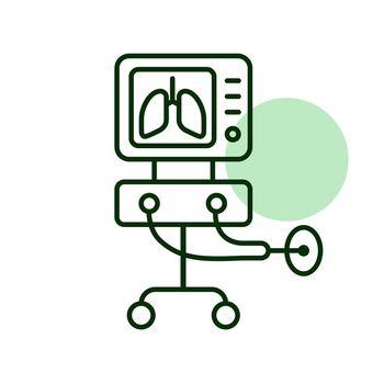 ICU ventilator medical therapy lungs ventilation