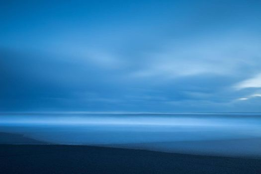 Abstract Serene Landscape Background