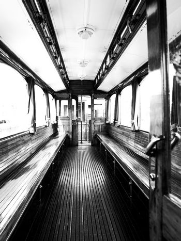 Historical Steam Locomotive Compartment