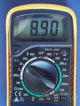 electronic multimeter tester