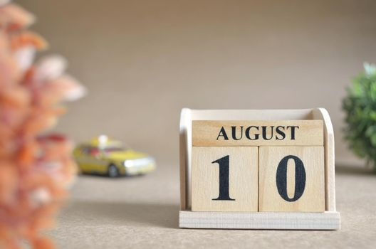 August 10.