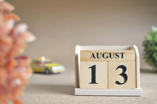 August 13.