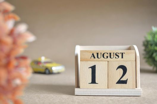 August 12.