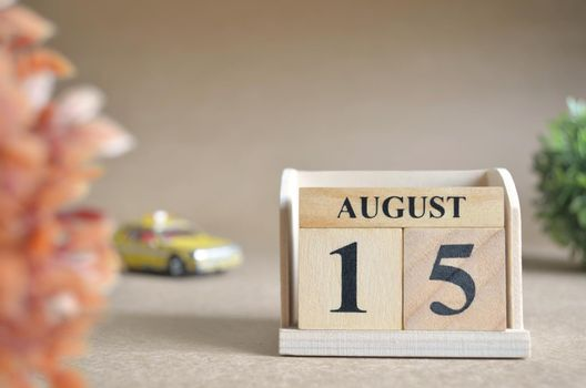 August 15.
