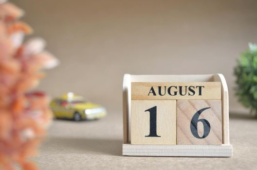 August 16.