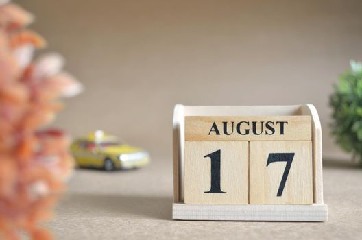 August 17.