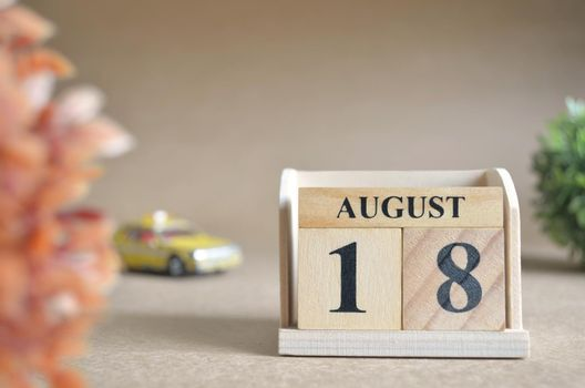 August 18.