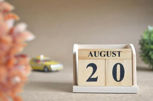 August 20.