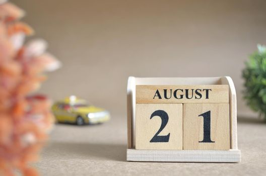 August 21.