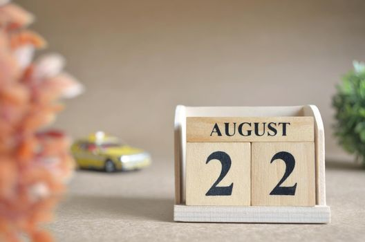 August 22.