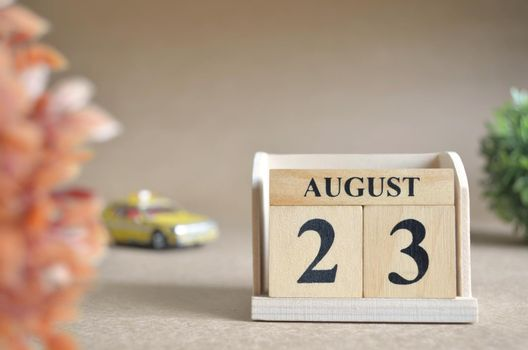August 23.
