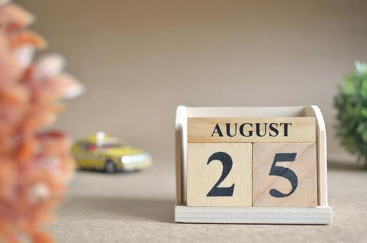 August 25.