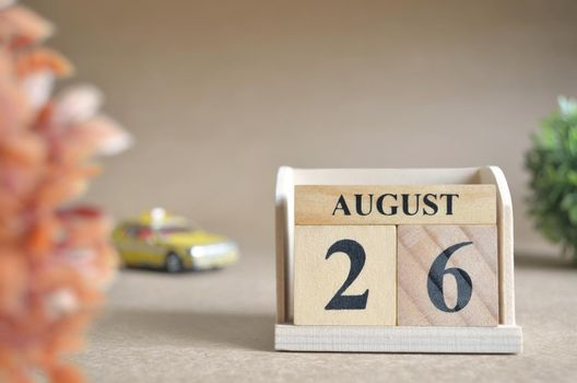 August 26.