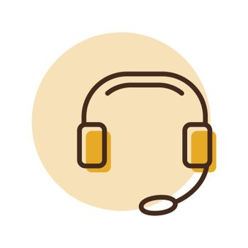 Call Center icon. Support. E-commerce sign. Graph symbol for your web site design, logo, app, UI. Vector illustration, EPS10.