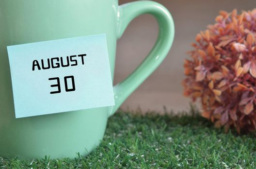 August 30.