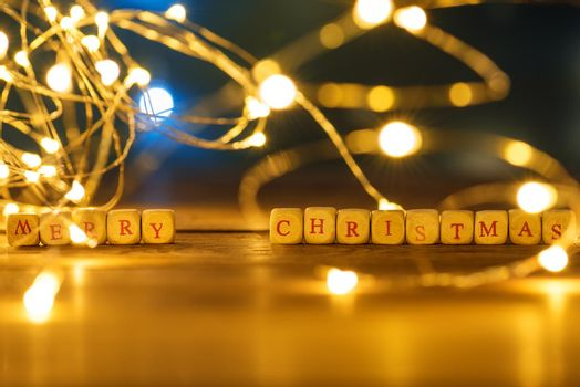 Background, Lights, Merry Christmas