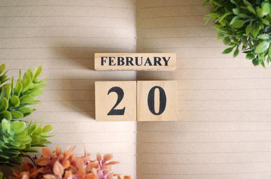 February 20.