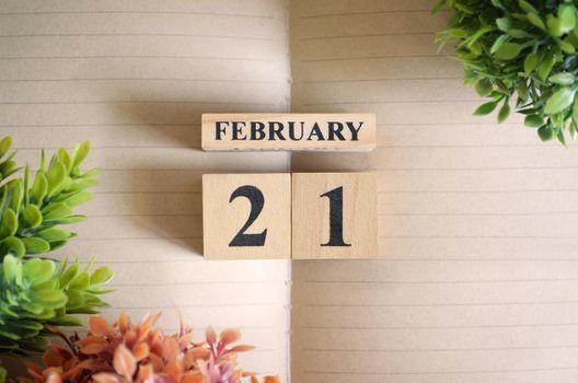 February 21.