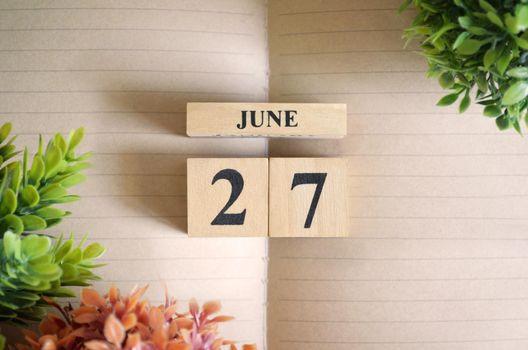 June 27.