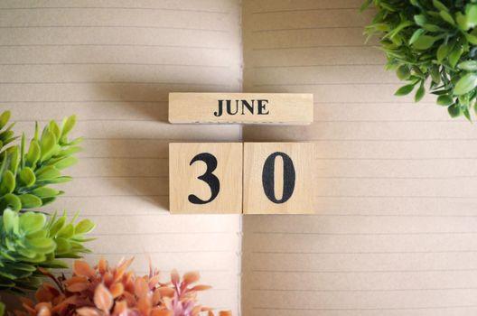 June 30.