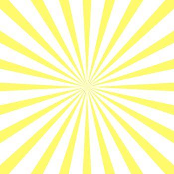 Yellow sun rays background. Retro sunburst radial beam. Sunray background