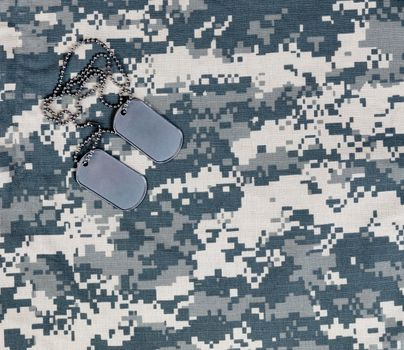 Military ID tags for the holidays of Memorial, 4th of July and Veteran Day