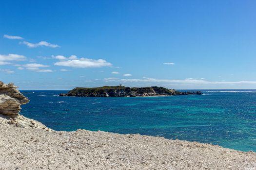 Hamelin Bay a popular fishing location in South Western Australia in early summer .