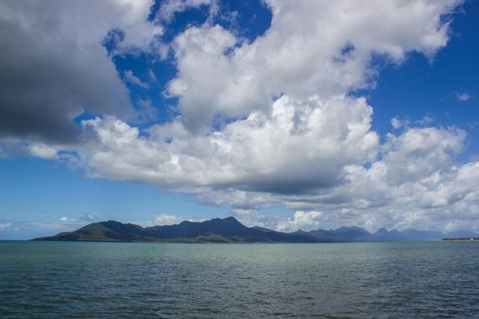 View of Dunk Island on a beautiful summer day, Missions Beach, Queensland