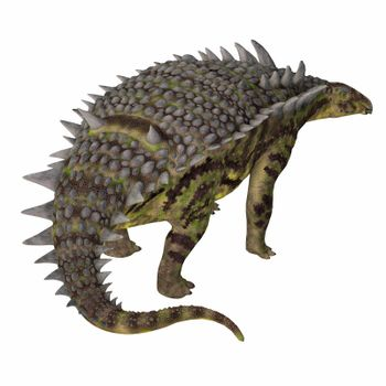 Hungarosaurus was a herbivorous armored Ankylosaur dinosaur that lived in Hungary during the Cretaceous Period.