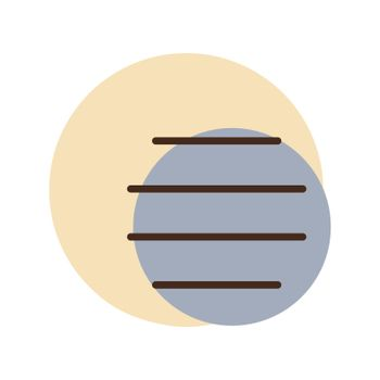 Fog vector icon. Weather sign
