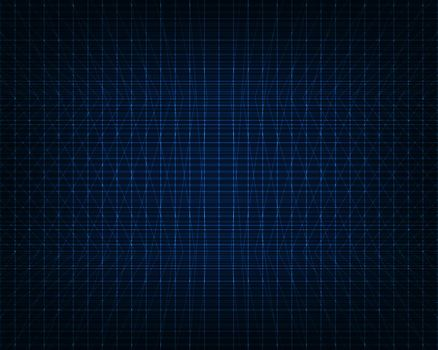 Abstract technology futuristic concept glowing blue line grid background and texture. Vector illustration