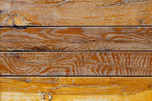 Brown wooden grunge door texture background.