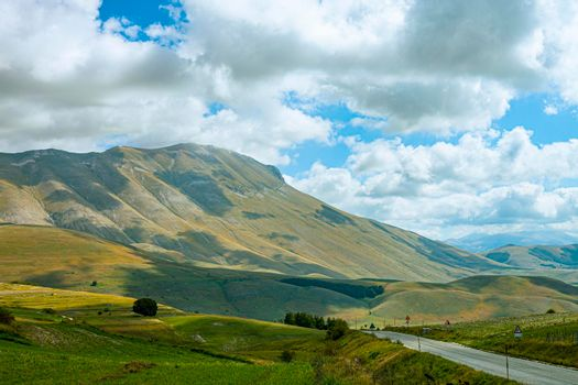 National Park of the Sibillini Mountains.