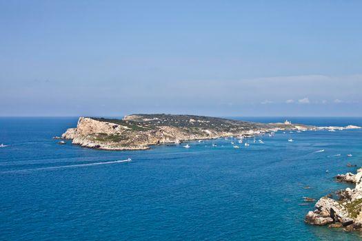 View of the Tremiti Islands.