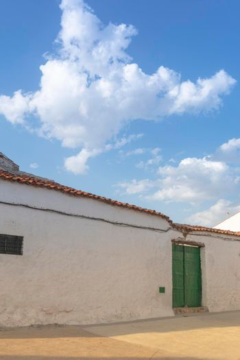 old stone houses in the south of Andalusia