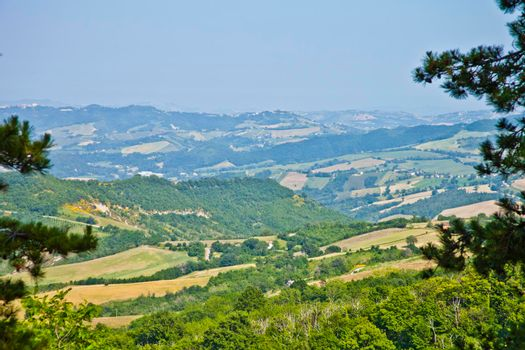 Summer day on the italian countryside.
